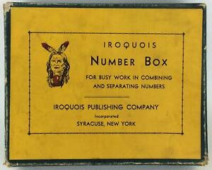 Iroquois Publishing Board Game Iroquois Number Box Fair