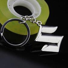 Quality 3D Zinc Alloy Auto Car LOGO Keychain Key chain ring Fob chrome Fit for