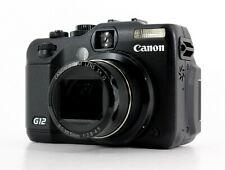 Canon PowerShot G12 10.0 MP Digital SLR Camera - Black