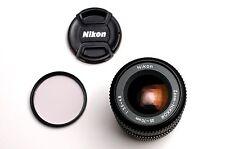 Nikon Zoom-NIKKOR 35-70mm f/3.5-4.8 Lens Caps & Filter NEX (#2260)