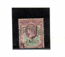Gran Bretaña Monarquias valor del año 1887-900 (BU-722)