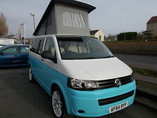 VW T5 TDi Camper Van       Our brand new Charmian Retro Conversion just fitted.