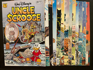 Uncle Scrooge #285-297 (Gladstone) Complete Life & Times Set Of 13 Comics Disney