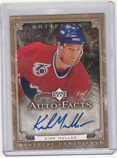 2006-07 Kirk Muller Artifacts Auto-Facts Autograph 1/1