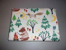 1-Forest Animals Enjoying Camping King Size Pillowcase New & Handmade!