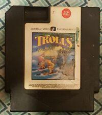 Trolls on Treasure Island (Nintendo) 1994 VG condition A.V.E. NES video game
