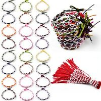 50pcs Wholesale Mix Handmade Vintage Braided Leather Bracelet Adjustable Lots
