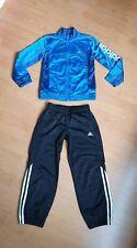 Jungen Sportanzug Adidas Hose Jacke Gr. 128