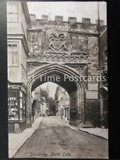 c1906 - Salisbury, North Gate - showing 'North Gate House, Shop'