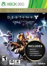 Destiny: The Taken King - Legendary Edition NTSC [XBOX 360, Bungee, FPS] NEW