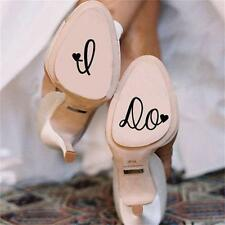 I Do Wedding Shoes Decal Vinyl Novelty Cute Stickers for Wedding Accessories