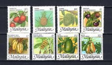 MALAYSIA MALAYA 1986 FRUITS COMPLETE SETS OF MNH STAMPS UNMOUNTED MINT
