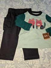 Tea Collection Boys Sz. 6/12 Month 2 Pc. Set. New W/ Tags. Adorable