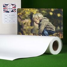 "36""x 30m 280gsm Inkjet Canvas Roll Matte, Water Resistant, Brilliant White."