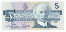 1986 Bank of Canada $5 - ENA Prefix BC-56a - Cat. $35 - SALE