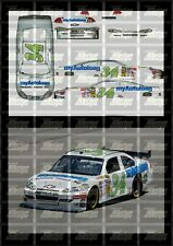 NASCAR 1/24 DECALS - 2009 CUP #34 JOHN ANDRETTI MYAUTOLOANS.COM FORD FUSION