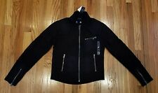Polo Ralph Lauren Women's Motorcycle-Look Soft Fashion Jacket Size L MSRP:$229
