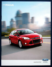 Prospekt brochure 2013 Ford Focus (USA)