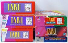 TABU Junior Edition 1996  Fottenmanöver 1989 MB SPIELE Auswahl
