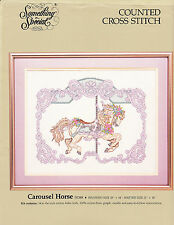 Counted Cross Stitch Kit:  Carousel Horse  Something Special  18 x 14