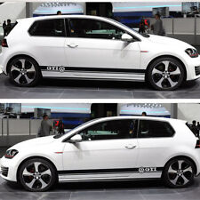 High Quality Side Body Decal Sticker Set for VW GOLF Polo 6 7 MK6 7 Scirocco GTI