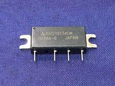 RA07N3340M MITSUBISHI RF MODULE 330-400MHZ 7.5W 9.6V