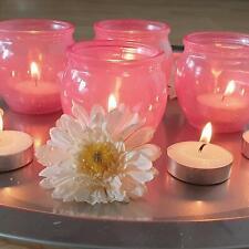 16 x Windlicht inkl. Teelichter - Kerze Hochzeit Party Dekoration Teelichthalter