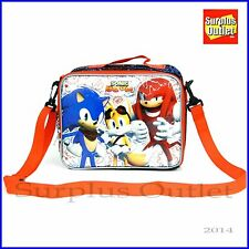 Sonic The Hedgehog Insulated Lunch Bag Snacks Bag For School