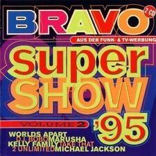 BRAVO SUPER Show 2 (1995) Take That, DJ Bobo, Rednex, k2, Interactive [CD DOPPIO]
