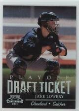 2011 Playoff Contenders Draft Tickets /99 Jake Lowery #DT29