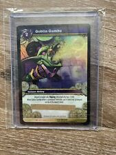 WOW TCG Goblin Gumbo LOOT CARD Unscratched Goblin Gumbo Kettle WOW IN GAME TOY