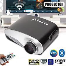 7000 Lumen 1080P 3D LED Projector Home Theater Portable Multimedia HDMI/USB/VGA
