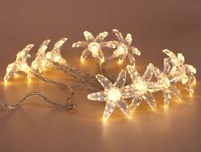 Warm White LED Flower Fairy String Lights Christmas Wedding Party Decor Battery