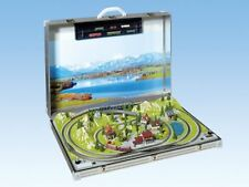Noch Z Scale 88280 Tessin Deluxe 2 Train Briefcase Layout with Marklin Track