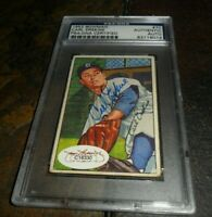 1952 BOWMAN BROOKLYN DODGERS #70 Signed AUTOGRAPH JSA & PSA DNA CERTIFIED