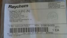 "Raychem 3/C In Line Splice Kit sealed factory bag Npkc-3-31C (N) Nuclear 1.0"" Od"