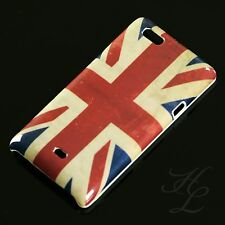 Sony Ericsson ST23i Xperia Miro Hard Case Schutz Hülle Etui Cover Handy UK Flage