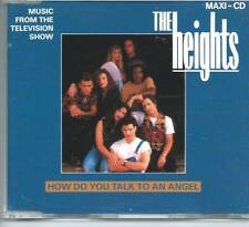 THE HEIGHTS How Do You Talk To An Angel 3 TRACK SOUNDTRACK CD SINGLE EMI HOLLAND