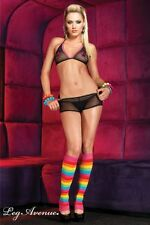 SEXY COMPLETINO GO GO POLE DANCER RAVE CLUB WEAR  SHORTS HOT PANTS LINGERIE SET
