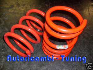 Lowered Springs H.19cm. Suspensions Sports Rear Fiat 500 F LR 126