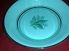Dessert/pie Plate in the Encore (platinum Inner Ring) pattern by Pope Gosser
