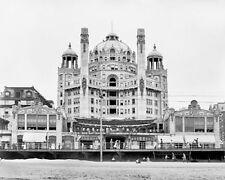 "GRAND HOTEL JERSEY SHORE ANTLANTIC CITY NEW JERSEY 1908 8X10"" B&W PHOTOGRAPH"