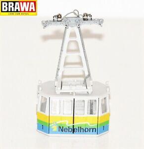 Brawa H0 6340.99.01 Gondel 1 beleuchtet für Nebelhornbahn - NEU + OVP