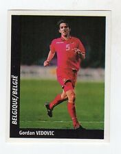 figurina DS CALCIATORI WORLD CUP FRANCE 98 NUMERO 215 BELGIO VIDOVIC