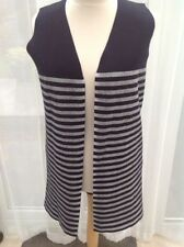 Marks and Spencer Striped Plus Size Waistcoats for Women