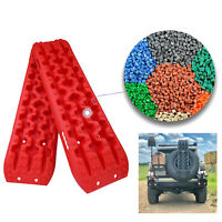 4GEN Recovery Tracks Traction Sand Snow Mud Track Tire Ladder Red 4WD