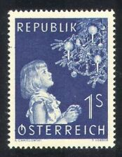 Austria 1954 Christmas/Greetings/Tree/Child   MNH