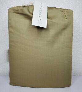 Casaluna 300 Thread Ct Temperature Regulating Solid King Sheet Set Natures Green