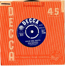 "DAVID WHITFIELD.HEAR MY SONG,VIOLETTA / I BELIEVE.UK ORIG 7"" & CO/SL.EX"