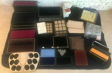 Jewelry Display Trays LOT assortment in good condition and Gift boxes assortment